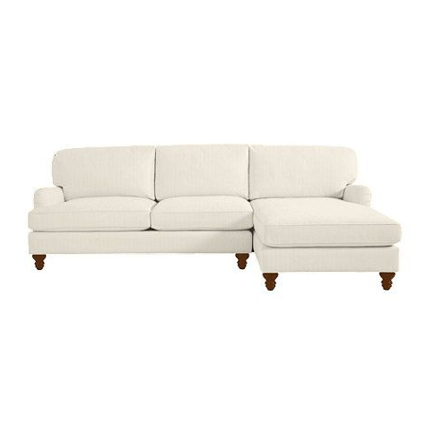 2pc Burland Contemporary Chaise Sectional Sofas Intended For Most Recently Released Eton Upholstered 2 Piece Sectional With Right Arm (View 3 of 10)