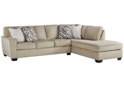 2pc Maddox Right Arm Facing Sectional Sofas With Chaise Brown In 2017 Decelle 2 Piece Sectional With Chaise Jarons (View 7 of 10)