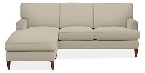 2pc Maddox Right Arm Facing Sectional Sofas With Chaise Brown Regarding 2017 Seaton Custom Sofa With Reversible Chaise – Modern Custom (View 8 of 10)