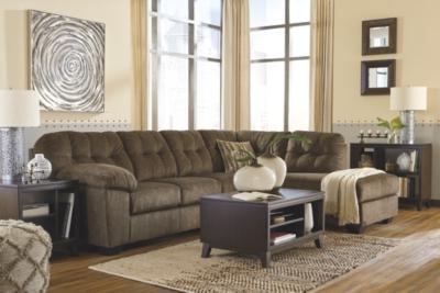 2pc Maddox Right Arm Facing Sectional Sofas With Chaise Brown Throughout 2017 Accrington 2 Piece Sectional With Chaise – Elite Furniture (View 10 of 10)