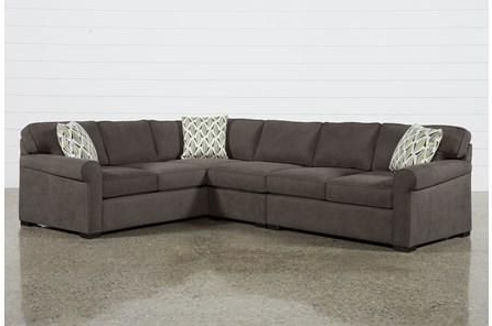 3pc Polyfiber Sectional Sofas With Most Recent Whitley 3 Piece Sectional Sofanate Berkus & Jeremiah (View 4 of 10)
