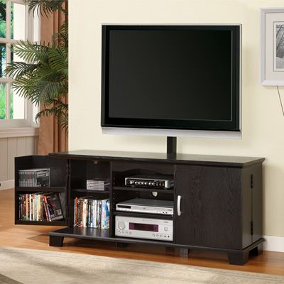 60 Inch Wood Tv Stand With Mount (View 2 of 10)