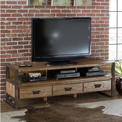 70 Inch And Larger Rustic Tv Stands You'll Love (View 4 of 10)