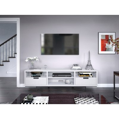 78 Inch White Fireplace Tv Stand – Wynwood (View 10 of 10)