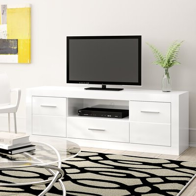 """Adalberto Tv Stands For Tvs Up To 78"""" Inside 2018 Metro Lane Becquere Tv Stand For Tvs Up To 78"""" & Reviews (View 10 of 10)"""