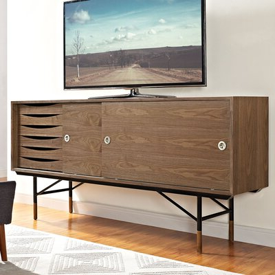 """Ailiana Tv Stands For Tvs Up To 88"""" Intended For Most Current Ivy Bronx Kahle Tv Stand For Tvs Up To 88"""" (View 8 of 10)"""