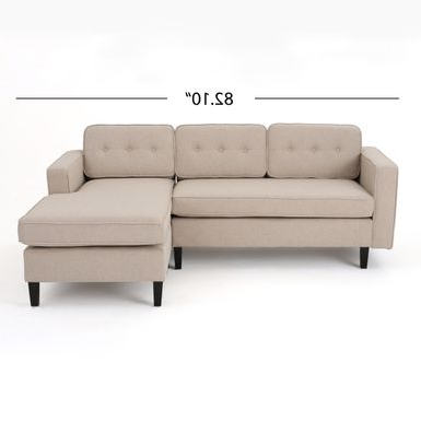 Alani Mid Century Modern Sectional Sofas With Chaise Within Recent Rent To Own Wilder Mid Century Modern 2 Piece Fabric (View 3 of 10)
