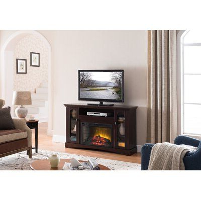 """Alcott Hill Devan Tv Stand For Tvs Up To 70"""" With Electric In Widely Used Broward Tv Stands For Tvs Up To 70"""" (View 4 of 10)"""