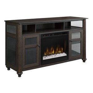 """Alcott Hill® Tv Stand For Tvs Up To 60"""" With Fireplace Intended For Best And Newest Lorraine Tv Stands For Tvs Up To 60"""" With Fireplace Included (View 4 of 10)"""