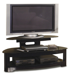 """Allegra Tv Stands For Tvs Up To 50"""" Pertaining To Newest Tech Craft Bw25125b Sorrento Series 50"""" Tv Stands Up To  (View 6 of 10)"""