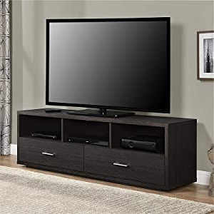 Amazon: Ameriwood Home Clark Tv Stand For Tvs Up To 70 For Popular Ameriwood Home Carson Tv Stands With Multiple Finishes (View 5 of 10)