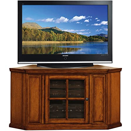 """Amazon: Leick Riley Holliday Corner Tv Stand, 46 Inch Pertaining To 2018 Lionel Corner Tv Stands For Tvs Up To 48"""" (View 7 of 10)"""