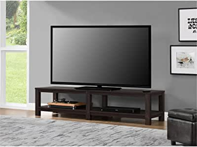 """Amazon: Mainstays Parsons Tv Stand For Tvs Up To 65 With 2018 Karon Tv Stands For Tvs Up To 65"""" (View 5 of 10)"""