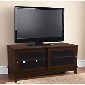 """Amazon: Mainstays Tv Stand For Tvs Up To 55"""", Multiple Intended For Most Popular Mainstays 4 Cube Tv Stands In Multiple Finishes (View 5 of 10)"""