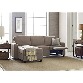 Amazon: Serta Palisades Reclining Sectional With Right With Regard To Well Liked Copenhagen Reclining Sectional Sofas With Right Storage Chaise (View 1 of 10)