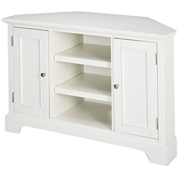 Amazon: Thomas Corner Media Stand – Center Storage With Regard To Best And Newest Naples Corner Tv Stands (View 6 of 10)
