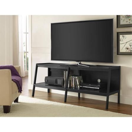 """Ameriwood Home Black Ladder Tv Stand For Tvs Up To 65 With Regard To Favorite Corner Tv Stands For Tvs Up To 60"""" (View 6 of 10)"""
