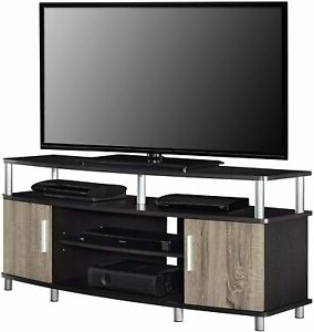 """Ameriwood Home Carson Tv Stand For Tvs Up To 50"""", Espresso Intended For Preferred Colleen Tv Stands For Tvs Up To 50"""" (View 2 of 10)"""