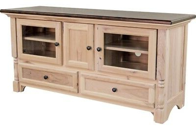 Amish Traditional Solid Wood Tv Stand Console Palisade 60 Intended For Well Known Tribeca Oak Tv Media Stand (View 3 of 10)