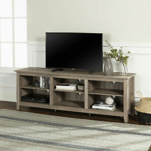 """Ansel Tv Stands For Tvs Up To 78"""" With Most Current Manor Park Wood Tv Media Storage Stand For Tvs Up To  (View 2 of 10)"""