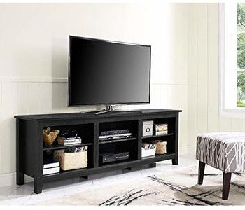 Anya Wide Tv Stands Regarding Famous Top 15 Best 70 Inch Tv Stands Of 2020 Reviews (View 1 of 10)