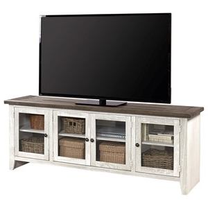 """Aspenhome Urban Farmhouse 72"""" Entertainment Console With Inside Well Liked Urban Rustic Tv Stands (View 10 of 10)"""