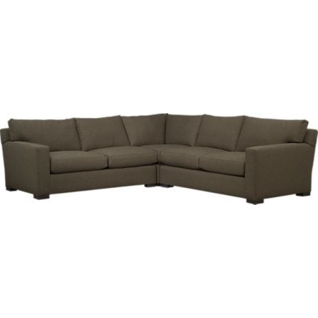 Axis Ii 3 Piece Sectional Sofa In Sectional Sofas (View 8 of 10)