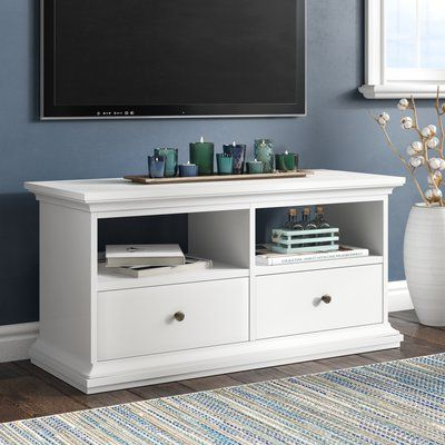 """Beachcrest Home Mathew Tv Stand For Tvs Up To 43"""" (View 6 of 10)"""