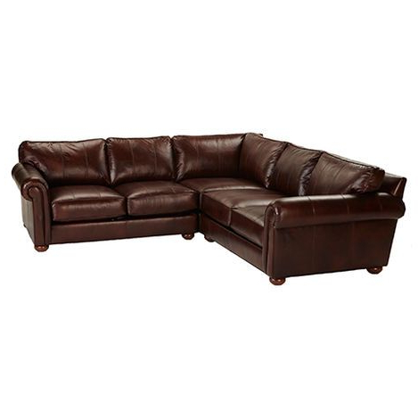 Best And Newest 2pc Maddox Left Arm Facing Sectional Sofas With Cuddler Brown With Sectionals (View 9 of 10)