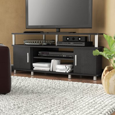 """Best And Newest 50 59 Inch Corner Tv Stands & Entertainment Centers You'll Within Tracy Tv Stands For Tvs Up To 50"""" (View 3 of 10)"""