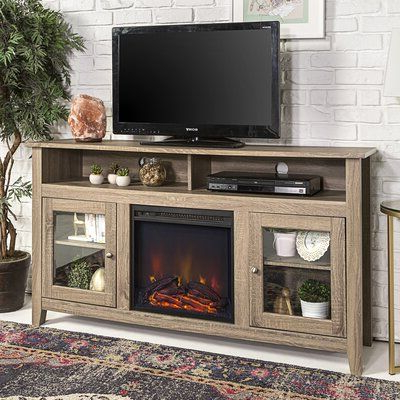 """Best And Newest Rickard Tv Stands For Tvs Up To 65"""" With Fireplace Included With Zipcode Design Kohn Tv Stand For Tvs Up To 65 Inches With (View 5 of 10)"""