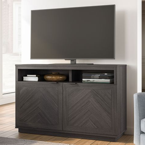 Better Homes & Gardens Herringbone Tv Stands With Multiple Finishes Intended For Fashionable 480 Ren O Ideas In  (View 8 of 10)