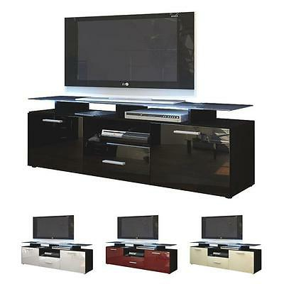 Black High Gloss Modern Tv Stand Unit Media Entertainment With Well Liked Dillon Black Tv Unit Stands (View 2 of 10)