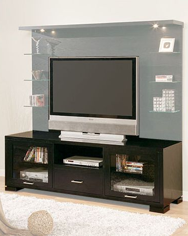 Black Media Center Tv Stand El 8030t Regarding Widely Used Petter Tv Media Stands (View 1 of 10)