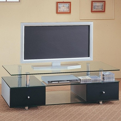 Black Metal Tv Stand – Steal A Sofa Furniture Outlet Los For 2018 Modern Black Tv Stands On Wheels (View 5 of 10)