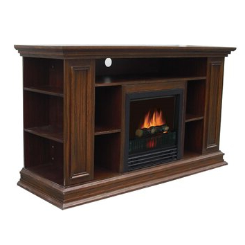 Boston Tv Stands Within Famous Boston Media 50 Tv Stand With Electric Fireplace (View 7 of 10)