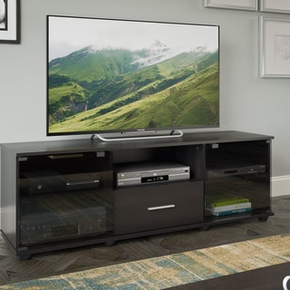 Bromley Grey Extra Wide Tv Stands With Regard To Most Popular Sonax Holland Collection Wood Ravenwood Black Extra Wide (View 1 of 10)