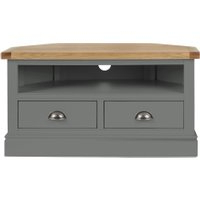 Bromley Slate Tv Stands With Preferred Dunelm 5054077927222 Lucy Cane Grey Corner Tv Stand Slate (View 1 of 10)