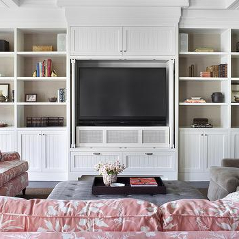 Built In Tv Cabinet – Design, Decor, Photos, Pictures For Famous 57'' Tv Stands With Led Lights Modern Entertainment Center (View 6 of 10)