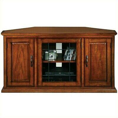 """Burnished Oak 50 Inch Tv Stand And Media Corner Within Popular Virginia Tv Stands For Tvs Up To 50"""" (View 9 of 10)"""