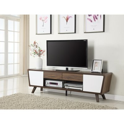 """Bustillos Tv Stands For Tvs Up To 85"""" Pertaining To Famous George Oliver Paul Solid Wood Tv Stand For Tvs Up To  (View 7 of 10)"""