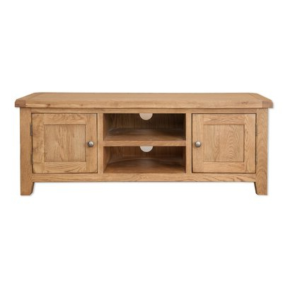 Buy Oak Tv Stands & Entertainment Units You'll Love With Widely Used Sherbourne Oak Corner Tv Stands (View 2 of 10)