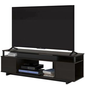 """Caleah Tv Stands For Tvs Up To 65"""" Regarding 2017 Ameriwood Home Brookstone Tv Stand Up To 65"""" In Golden Oak (View 2 of 10)"""