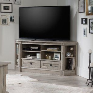 """Camden Corner Tv Stands For Tvs Up To 60"""" Regarding Well Liked Three Posts Orviston Corner Tv Stand For Tvs Up To  (View 8 of 10)"""