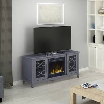 """Canora Grey Tompkins Tv Stand For Tvs Up To 60 Inches With In Most Up To Date Ameriwood Home Rhea Tv Stands For Tvs Up To 70"""" In Black Oak (View 7 of 10)"""