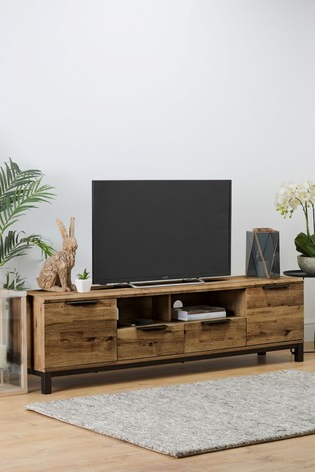Carbon Wide Tv Stands Regarding Preferred Buy Bronx Superwide Tv Stand From The Next Uk Online Shop (View 5 of 10)