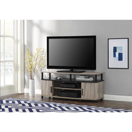 """Carson Tv Stand, For Tvs Up To 50"""", Multiple Finishes With Regard To Preferred Ameriwood Home Carson Tv Stands With Multiple Finishes (View 4 of 10)"""