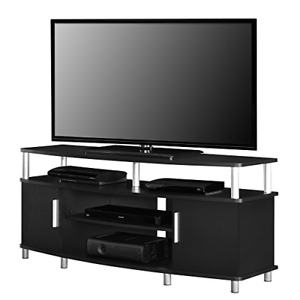 Carson Tv Stands In Black And Cherry With Regard To Well Liked Ameriwood Home Carson Tv Stand Tvs Assorted Sizes , Colors (View 2 of 10)