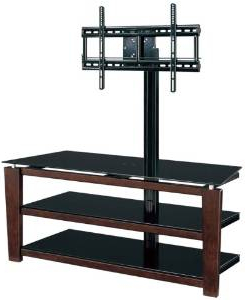 """Cheap Whalen Furniture Tv Stand Flat Panel Tvs, Find In Well Known Whalen Furniture Black Tv Stands For 65"""" Flat Panel Tvs With Tempered Glass Shelves (View 2 of 10)"""
