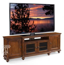 """Cherry Wood Oxford With Mission Corner Tv Stands For Tvs Up To 38"""" (View 2 of 10)"""